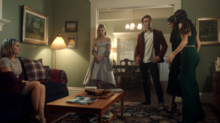 Season 1 Episode 12 Anatomy of a Murder Archie, Veronica and Betty confess to their parents