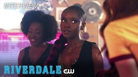 Riverdale Ashleigh Murray Interview Summer Vacation The CW