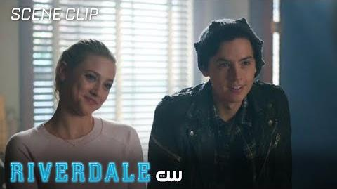 Riverdale Season 2 Ep 8 Bughead Asks Varchie to Investigate the Black Hood The CW