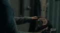 Season 1 Episode 13 The Sweet Hereafter Jughead holding Southside Serpent jacket 1.png