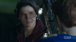 Season 1 Episode 2 A Touch of Evil Jughead talking with Archie