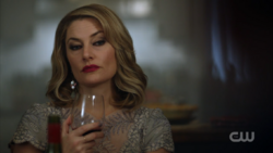 Season 1 Episode 11 To Riverdale and Back Again Alice drinking