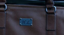 Season 1 Episode 12 Anatomy Of A Murder Hiram's initials
