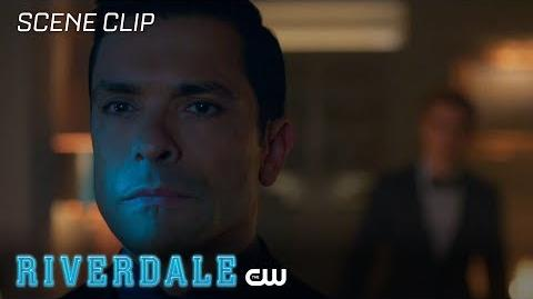 Riverdale Season 2 Ep 12 Archies Warns Hiram The CW