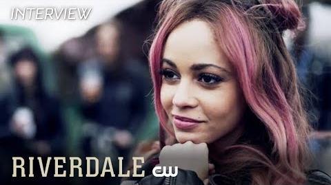 Riverdale Madelaine Petsch & Vanessa Morgan Interview Serpent Resurgent The CW