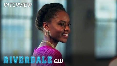 Riverdale Ashleigh Murray Interview Season 2 - Milkshake Moments The CW