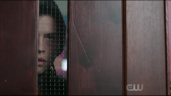 Season 1 Episode 2 A Touch of Evil Jughead looking through classroom door