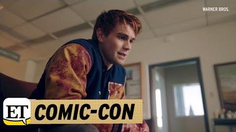 EXCLUSIVE 'Riverdale' Season 2 First Look Angry Archie Crazy Cheryl & the 'Angel of Death'!
