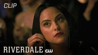 Riverdale Hiram Gives Veronica Business Advice Season 3 Episode 7 Scene The CW