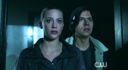 Season 1 Episode 6 Faster, Pussycats! Kill! Kill! Jughead and Betty