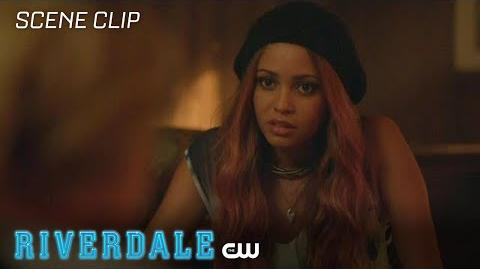 Riverdale Season 2 Ep 4 Betty and Toni Argue Over The Black Hood The CW