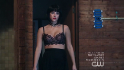 Season 1 Episode 3 Body Double Betty with black wig 1