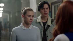 Season 1 Episode 9 La Grande Illusion Betty Jughead (2)