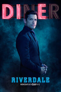 Season 2 'Diner' Hiram Lodge Promotional Portrait