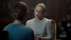 Season 1 Episode 4 The Last Picture Show Betty interviewing Ms. Grundy