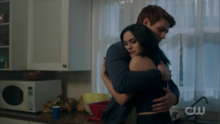 Season 1 Episode 10 The Lost Weekend Archie hugs Veronica