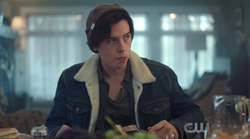Season 1 Episode 6 Faster, Pussycats! Kill! Kill! Jughead eating