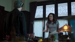 Season 1 Episode 4 The Last Picture Show Mayor Sierra McCoy and Jughead