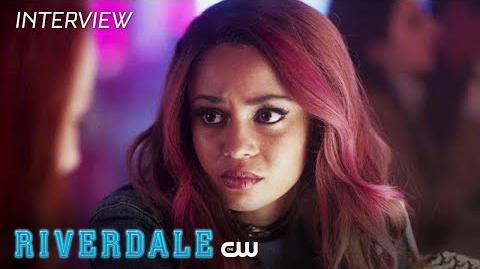 Riverdale Vanessa Morgan Interview Toni And Cheryl The CW