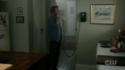 Season 1 Episode 12 Anatomy of a Murder Fred on the phone