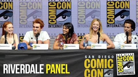 RIVERDALE Full Panel San Diego Comic Con 2018