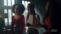 Season 1 Episode 11 To Riverdale and Back Again Valerie, Josie and Melody singing