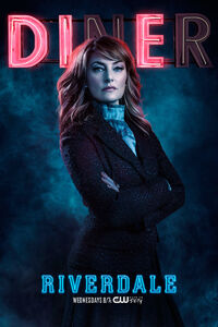Season 2 'Diner' Alice Cooper Promotional Portrait