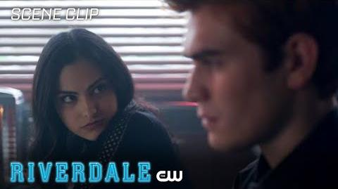 Riverdale Season 2 Ep 19 Archie Thinks the Black Hood is Still Alive The CW