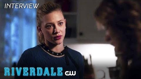 Riverdale Lili Reinhart Interview Back To Work The CW