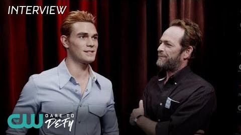 IHeartRadio Music Festival 2018 Backstage with KJ Apa & Luke Perry The CW