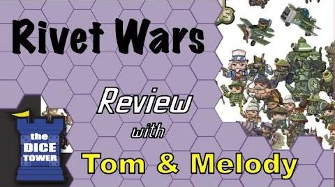 Rivet Wars Review - with Tom and Melody Vasel
