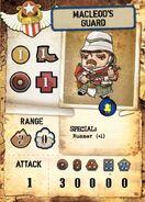 Mcleod's Guards Card