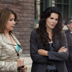 Angela Rizzoli & Detective Jane Rizzoli