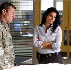 Sgt. Major Casey Jones & Detective Jane Rizzoli