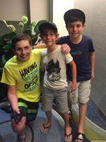 Peter, Jacob & JakeTremblay
