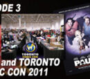 Half in the Bag: Paul and Toronto Comic Con