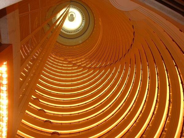 Shanghai Grand Hyatt Atrium