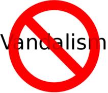 No vandalism allowed on RMoutreach
