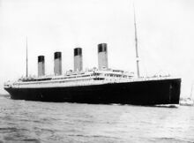 Titanic am 10. April. 1912