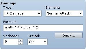 Damage Formula Reference Guide | RPG Maker VX Ace Wiki