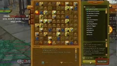 How to use and change Title Ragnarok Online 2 Legend of the Second RO2 LotS