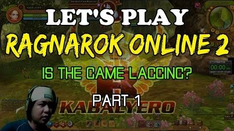 Let's Play Ragnarok Online 2 - Is The Game Lagging (Part 1)