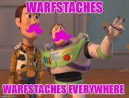 Warfstaches everywhere