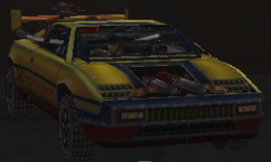 Omega roadkill wiki fandom powered by wikia the omega is a yellow sports car with a large rumbling v8 engine in the back it is unlocked by collecting all the parts and blueprint for it in paradise malvernweather Choice Image