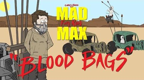 """Mad Max Fury Road """"Blood Bags"""" a Carrot and Potato Parody"""