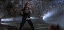 Max in thunderdome