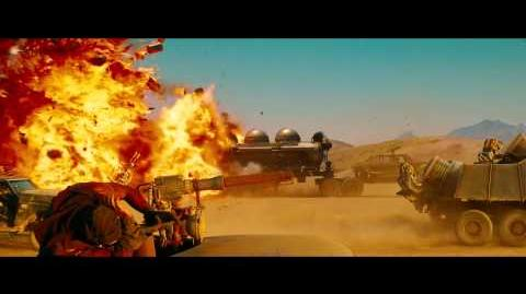 Mad Max Fury Road Taiwan TV Spot 1. ALL NEW FOOTAGE!