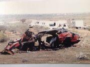Red XA Wreckage