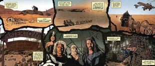 Beyond thunderdome comic book