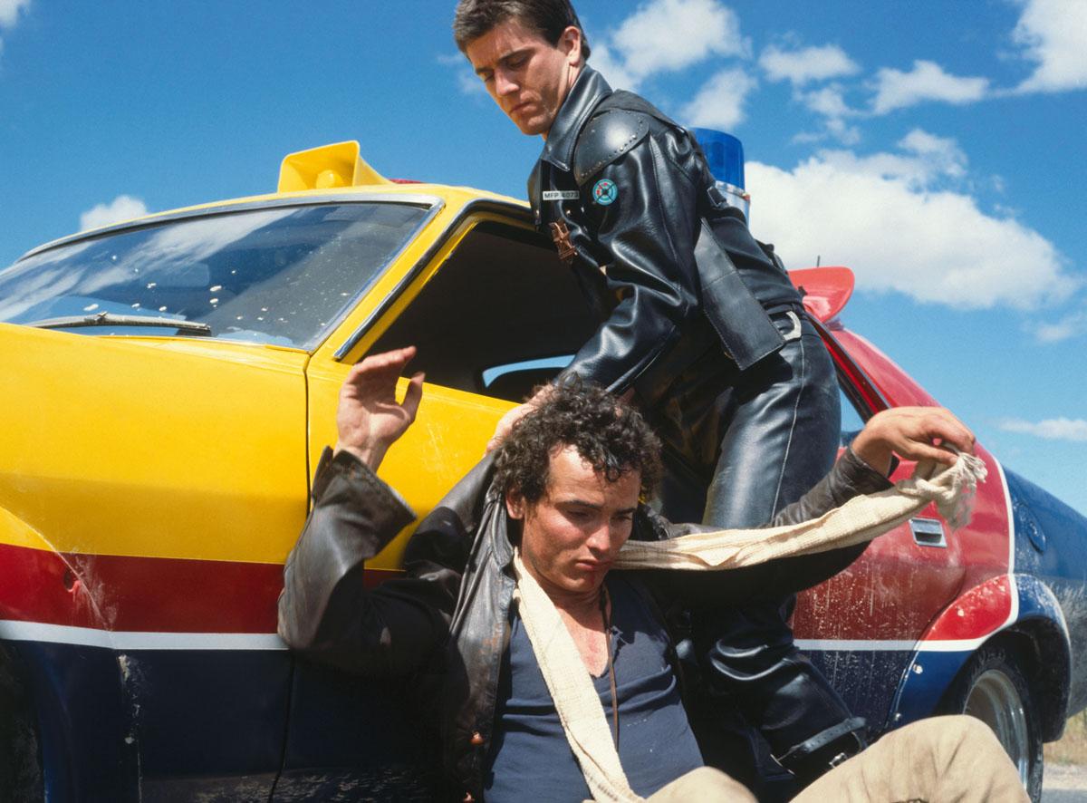 Rockatansky Mens Mad Max Inspired Vest Supercharger Interceptor Car Film